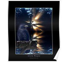 """Crow Magic""  Poster"