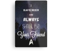 Star Trek Print Metal Print