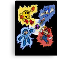 When Gaming legends Collide... Canvas Print