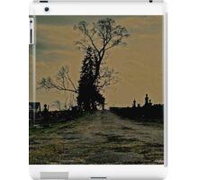 Creepy trees iPad Case/Skin