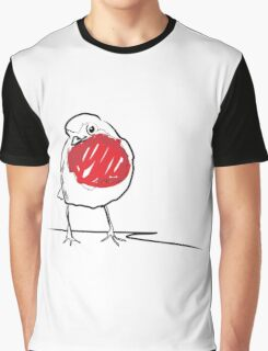 ROBIN REDBREAST Graphic T-Shirt
