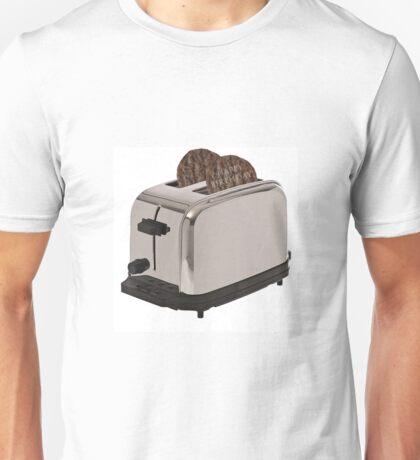 Happy Birthday Hamburger Toaster Unisex T-Shirt