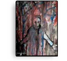 Angry Apparition Canvas Print
