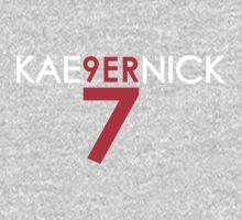 KAE9ERNICK 7 - QB #7 Colin Kaepernick of the San Francisco 49ers [DARK] Kids Clothes
