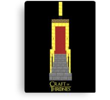 Craft of Thrones Canvas Print