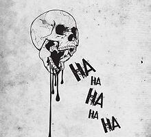 Laughing Skull by NinjaSa