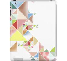 Triangles Color iPad Case/Skin