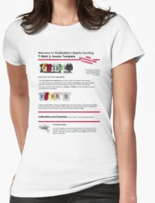 Test post Womens Fitted T-Shirt