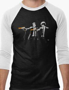 Pixel Fiction Men's Baseball ¾ T-Shirt