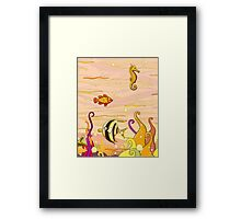 Under the Sea for Kids Framed Print