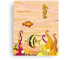Under the Sea for Kids Canvas Print