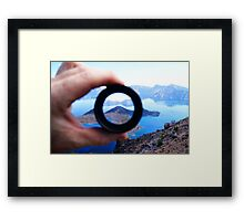 Eye Of The Wizard Framed Print