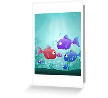Under the Sea for Kids Greeting Card