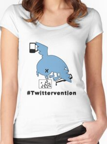 #Twittervention Women's Fitted Scoop T-Shirt