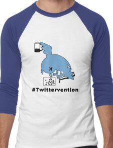 #Twittervention Men's Baseball ¾ T-Shirt