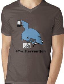 #Twittervention Mens V-Neck T-Shirt