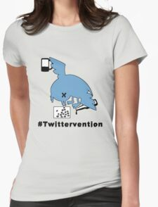 #Twittervention Womens Fitted T-Shirt