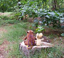 The Gruffalo and the mouse by kaotic-shell
