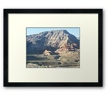 magestic mountain Framed Print