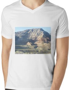 magestic mountain Mens V-Neck T-Shirt