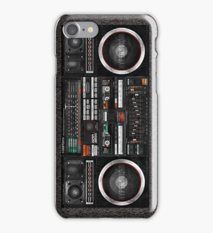 seventies Gettoblaster iPhone Case/Skin