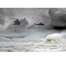 Merlin Rescue Photographic Print