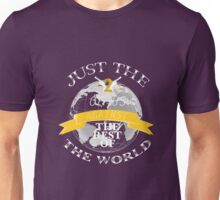 Two Of Us Against The Rest Of The World (White+Yellow) Unisex T-Shirt