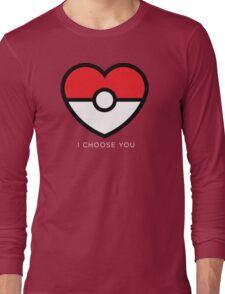 Pokéheart Long Sleeve T-Shirt