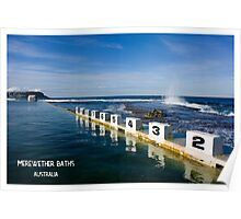 Merewether Baths - Beachcomber Series Poster