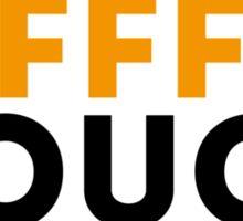 F-Cough Sticker