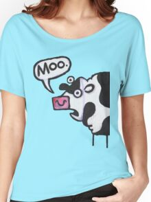 Cow top Women's Relaxed Fit T-Shirt