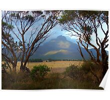Stirling Ranges at sunrise Poster