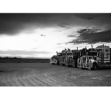 Road Train Photographic Print