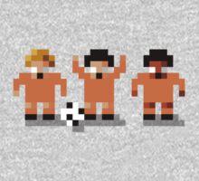 "Sensi Tee: Netherlands: ""Clockwork Orange"" Total Football One Piece - Long Sleeve"