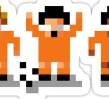 "Sensi Tee: Netherlands: ""Clockwork Orange"" Total Football Sticker"