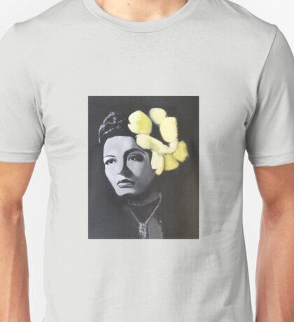 Billie Holiday portrait painting Unisex T-Shirt
