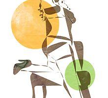 Cubist  by Alma Perissinotti
