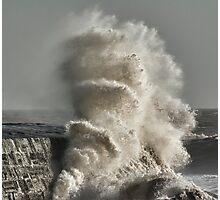 January Storm 2 Photographic Print