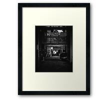 We'll all come inside and eat your brains Framed Print