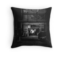 We'll all come inside and eat your brains Throw Pillow