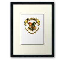 Hogwarts Framed Print