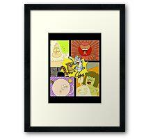 Regular Show Framed Print