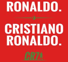 My Name is Ronaldo. Cristiano Ronaldo. by idandesign