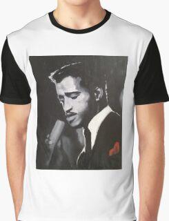 Sammy Davis Jr. Original portrait painting Graphic T-Shirt