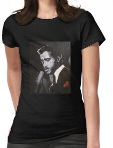 Sammy Davis Jr. Original portrait painting Womens Fitted T-Shirt