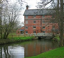 Sopley Mill by RedHillDigital