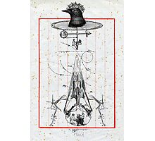 CUERVO CABEZA DE MAQUINA (machine head crow) Photographic Print