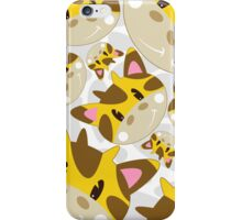 Cute Cartoon Giraffe Pattern iPhone Case/Skin