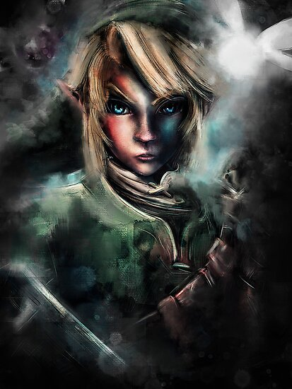 Legend of Zelda Link is One Epic Hylian by barrettbiggers