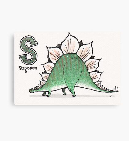 Stegosaurus Canvas Print